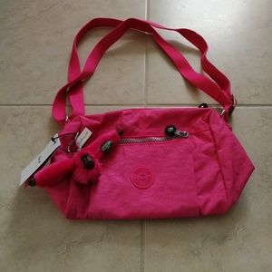 New Kipling bag mini in pink